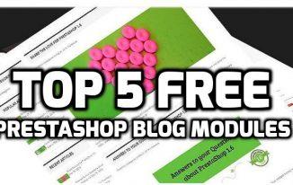 Top 5 Free PrestaShop Blog Modules