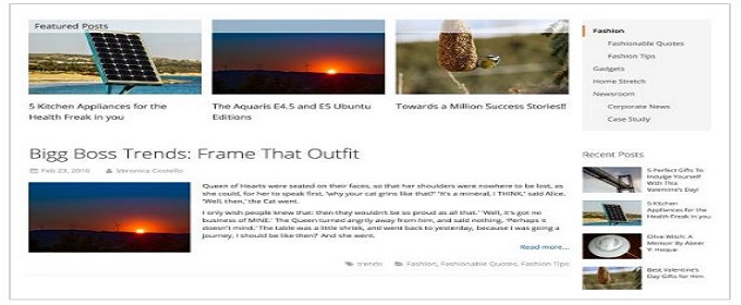 mirasvit blog extension for Magento